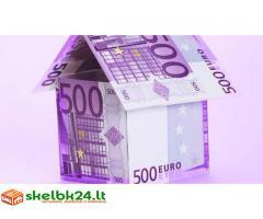 PASIŪLYMAI GARANTIS nuo 10000 € iki 350.000.000 €