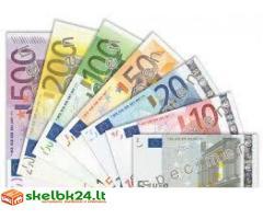 Banko paskolos paslaugos visiems rimtiems žmonėms, kuriems gali būti grąžinta kompensacija