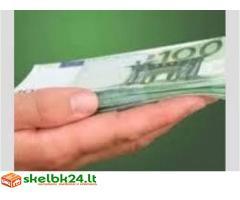 Kredito pasiūlymas labai patikimas ir sąžiningas.