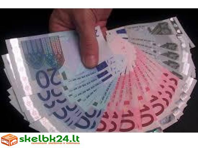 asmeninės paskolos svyruoja nuo 5000 €
