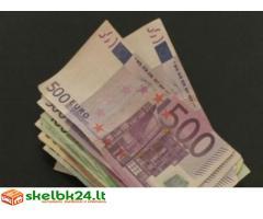 rimto kredito pasiūlymas ir palankus žmonėms reikėti