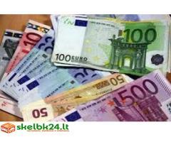 Atsisakė paskolų pasiūlyti kreditą šalia bankams