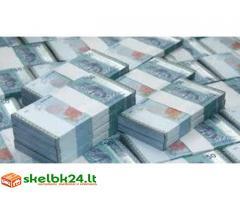 Ar jums reikia teikti skubią finansinę kredito paskolą?