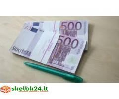 Finansavimas be protokolų