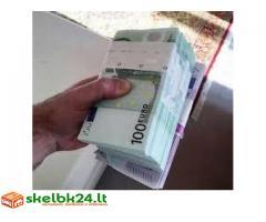 Finansinės paskolos pasiūlymas