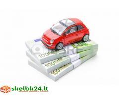 Automobilių nupirkimas bet kokia savaitės dieną