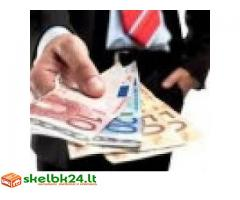pinigų paskolos pasiūlymas