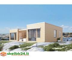 Karkasinių - skydinių namų statyba