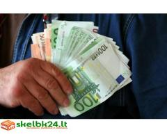 bloga kredito paskolos be garantas atneša viltį